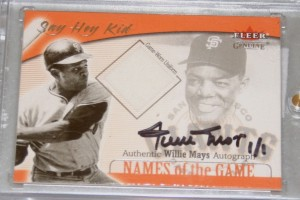 willie mays fake