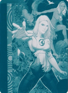 2013-Marvel-Fleer-Retro-Printing-Plate-Invisible-Woman